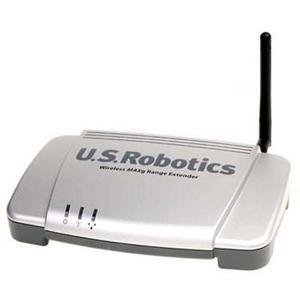 Thumbnail for the USRobotics USR5441 router with 54mbps WiFi, 1 100mbps ETH-ports and                                          0 USB-ports