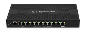 Thumbnail for the Ubiquiti Networks EdgeRouter 10X router with No WiFi, 1 N/A ETH-ports and                                          0 USB-ports
