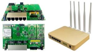 Thumbnail for the UniElec U7621-06 router with No WiFi, 4 Gigabit ETH-ports and                                          0 USB-ports
