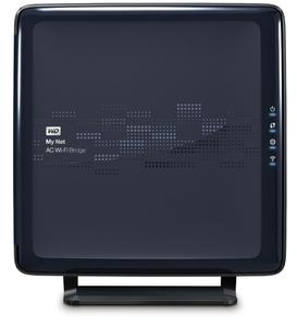 Thumbnail for the Western Digital My Net AC Bridge router with Gigabit WiFi, 4 Gigabit ETH-ports and                                          0 USB-ports