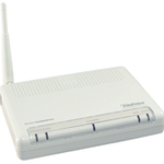 The XAVi X7968 router with 54mbps WiFi, 4 100mbps ETH-ports and                                                  0 USB-ports
