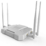 The ZBT WE1326 router with Gigabit WiFi, 4 Gigabit ETH-ports and                                              0 USB-ports