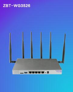 Thumbnail for the ZBT WG3526 router with Gigabit WiFi, 4 N/A ETH-ports and                                          0 USB-ports