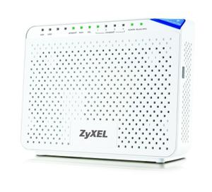 Thumbnail for the ZyXEL P-2812HNU-F1 router with 300mbps WiFi, 4 N/A ETH-ports and                                          0 USB-ports