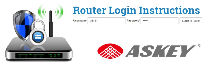How To Login to an Askey Router And Access The Setup Page | RouterReset