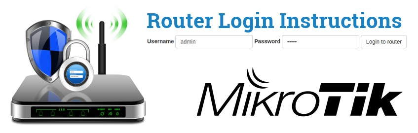 how to login to a mikrotik router and access the setup page routerreset how to login to a mikrotik router and