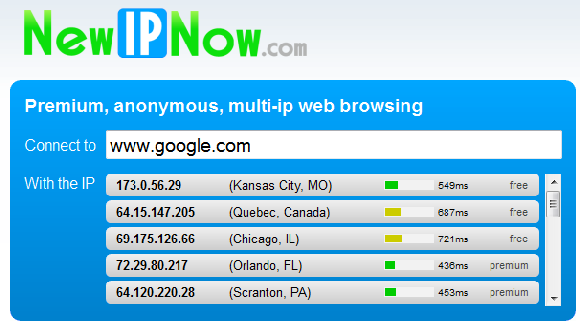 NewIPNow - Get Authenticated Access To Your IP Addresses.