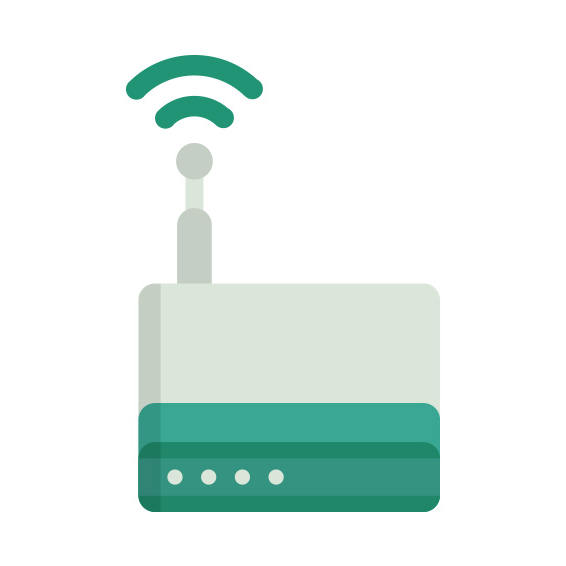 Clipart image of router